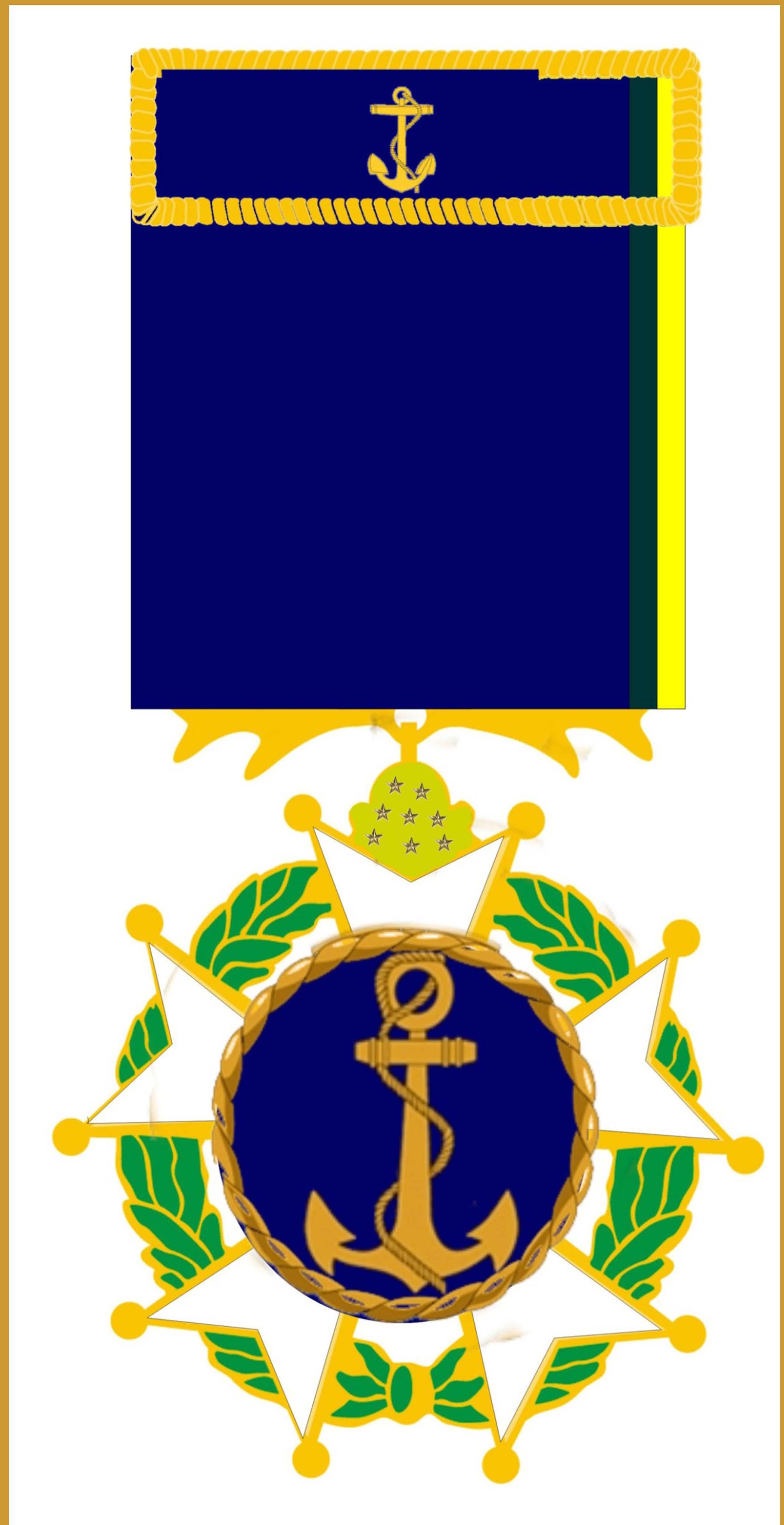 1 - Medalha do Mérito da Força Naval