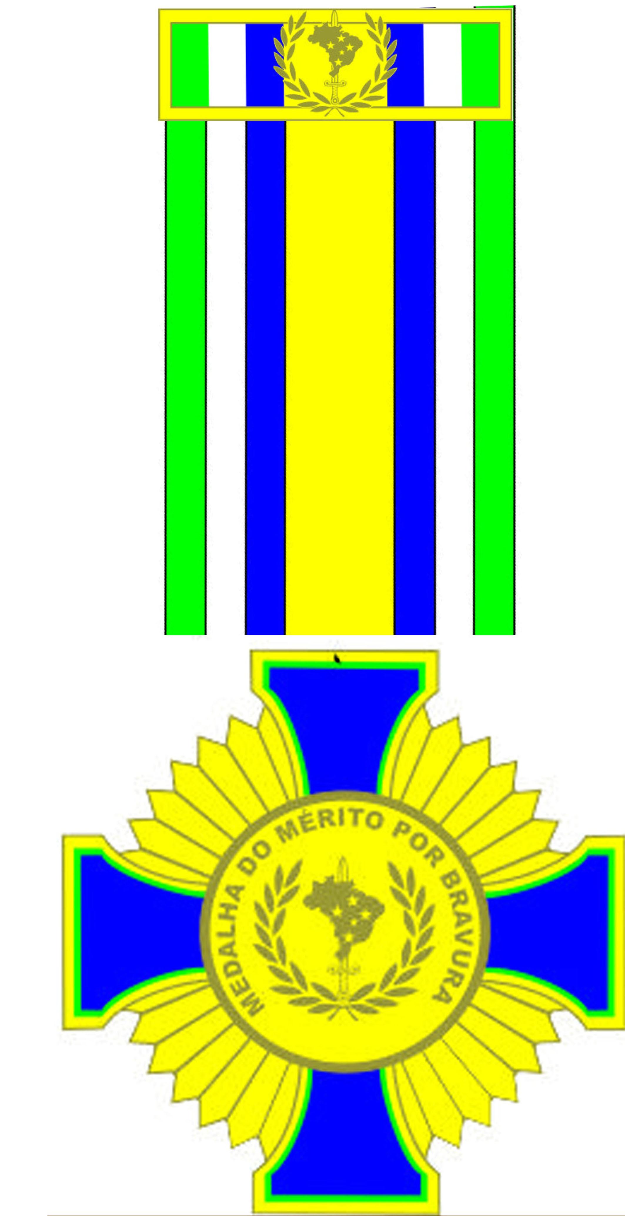 16 - Medalha por Mérito de Bravura