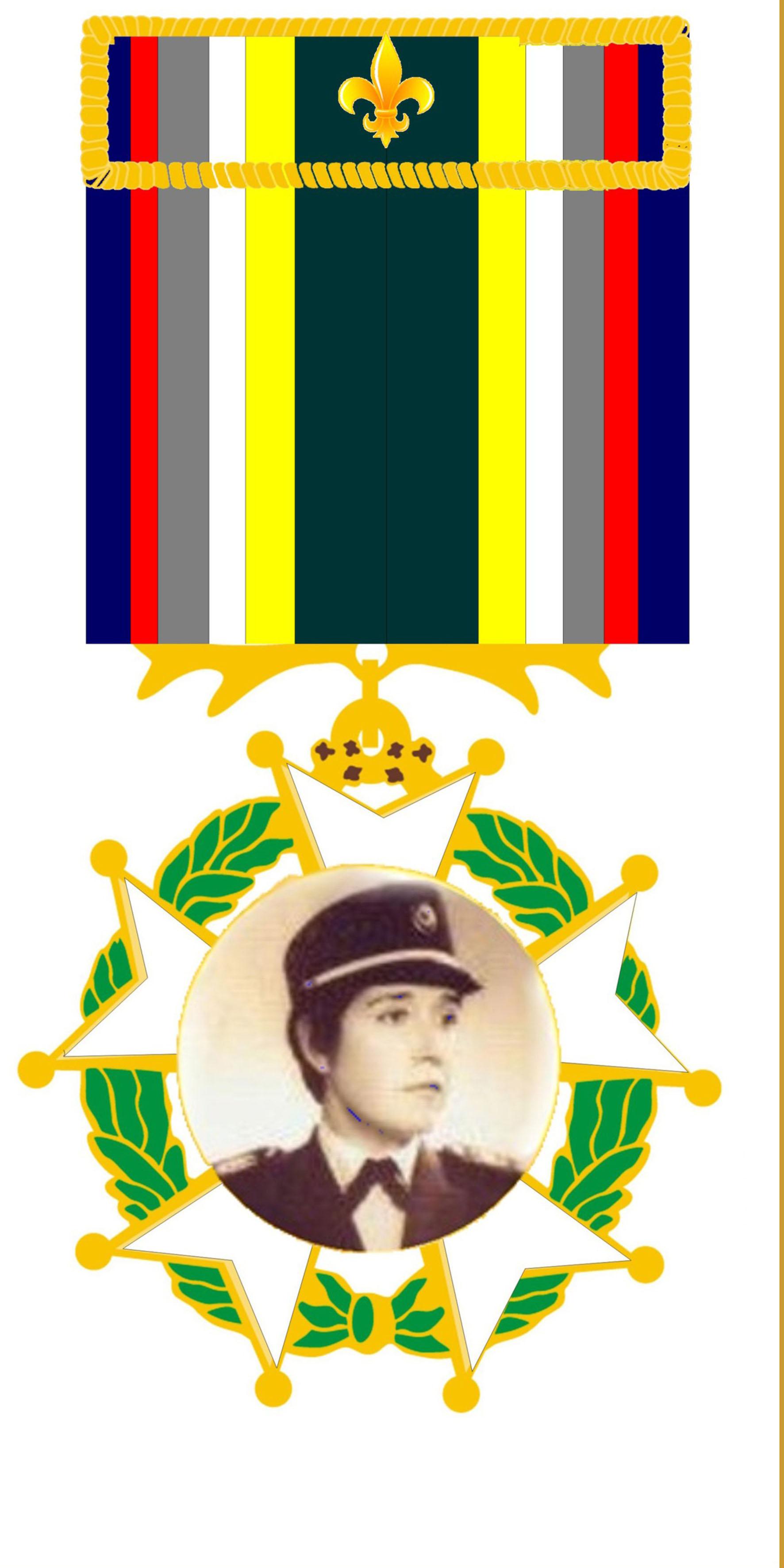 17 - Medalha da Ordem do Mérito Policial Feminino - Cel Hilda Macedo