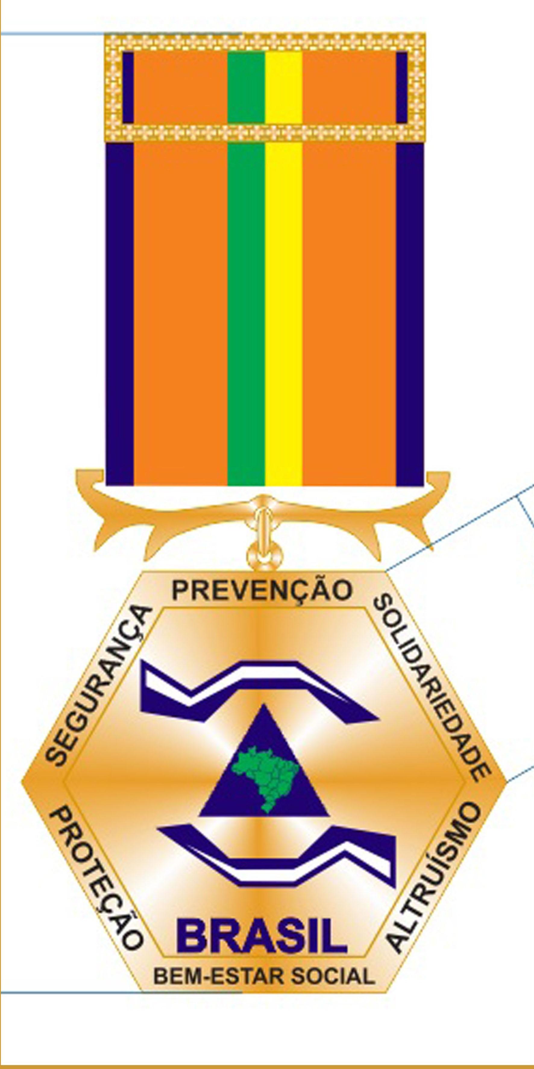 18 - Medalha do Mérito de proteção e Defesa Civil