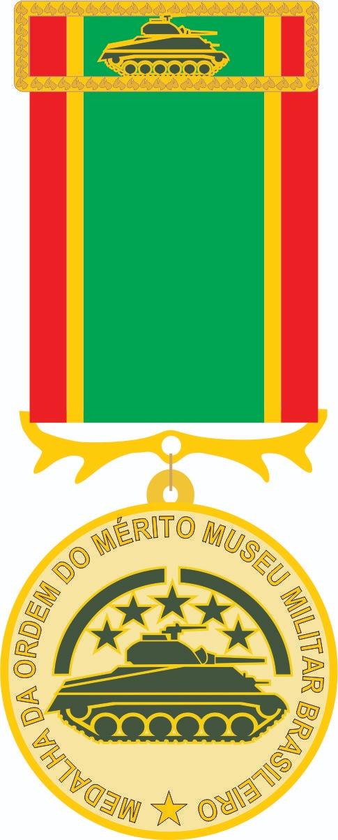 Medalha do mérito museu militar brasileiro